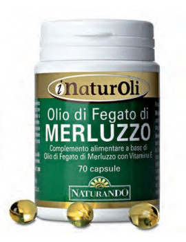 OLIO DI FEGATO MERLUZZO 70CPS