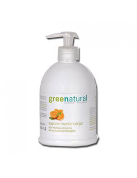 GREENATURAL DET MANI/CRP 500ML