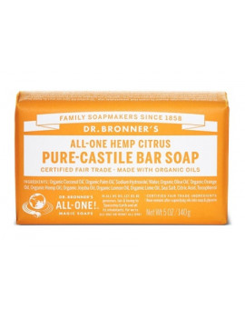 DR BRONNER'S CITRUS-ORANGE140G